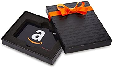Amazon.in Black Gift Card Box - Rs.1000, Black Card