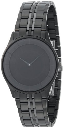 Citizen Men's Eco-Drive Stiletto Black Ion-Plated Watch #AR3015-53E