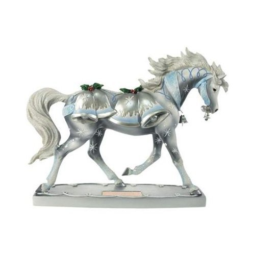 Horse of A Different Color Silver Bells Figurine
