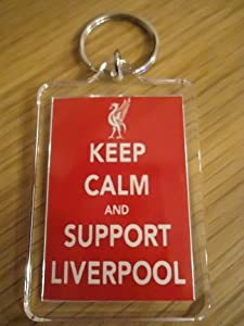 Liverpool Fc - Keep Calm Key Ring by Liverpool FC
