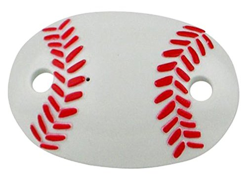Sports Fan 4 Pack - 2 Little Slugger Baby Pacifiers (Baseball) and Slam Dunkers (Basketball)