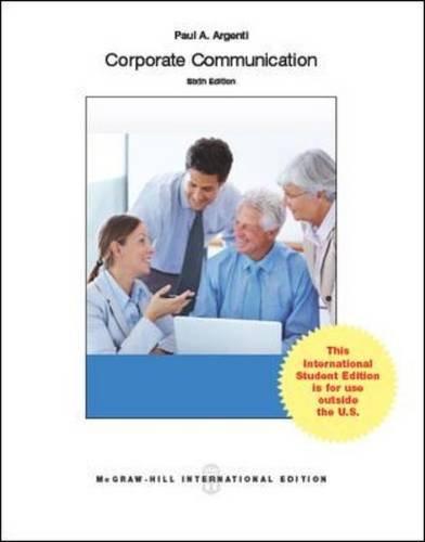 Corporate Communication (Int'l Ed)