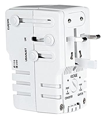 Travel Smart By Conair Ts253adn All In One Adapter Combo Unit by Travel Smart By Conair