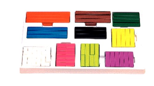 Learning Resources Cuisenaire Rods Multi-pack (wood)