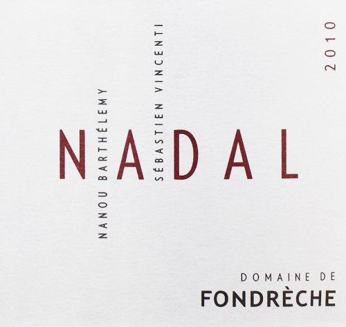 """2010 Domaine De Fondreche Rouge """"Nadal,"""" Ventoux 750 Ml"""
