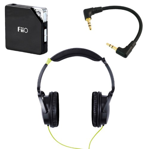 Fostex Th-5 (Black) With Fiio E6 Professional Headphone Bundle