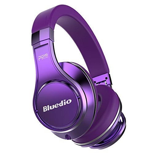 Bluedio Bluetooth Wireless Headphone, Purple (Bluedio (UFO))