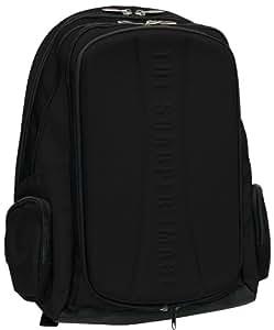 The Sharper Image Backpack Speaker System (Black)