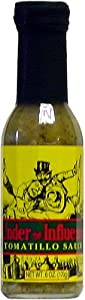 Under The Influence Tomatillo Hot Sauce, Judicial Flavors, 6 fl oz from AmericanSpice.com
