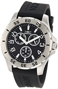 Invicta Men's 1808 Specialty Collection Multi-Function with  Polyurethane Strap