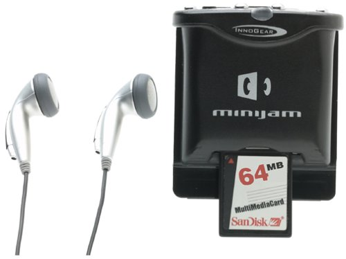 InnoGear MiniJam 32MB Plus MP3 Player Springboard Module (Graphite) (Now with an extra 32MB)