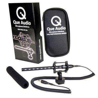 Que Audio Dslr Video Microphone Kit Lite
