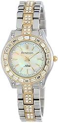 Armitron Women's 75/5053MPTT Crystal Swarovski Accented Two-Tone Bracelet Watch