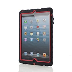 Gumdrop Cases Drop Tech Series Case for Apple iPad mini Black/Red (DT-IPADMINI-BLK-RED)
