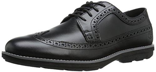 Timberland Uomo Brogue Oxford scarpe Derby nero Size: EU 41.5 (US 8)