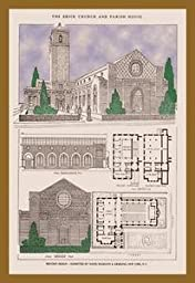 Paper poster printed on 20 x 30 stock. McGrath and Kiessling Church