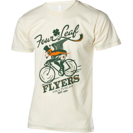 Image of Twin Six Four Leaf Flyers T-Shirt - Short-Sleeve - Men's (B007JTY66Y)