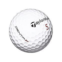 TaylorMade Mixed Used Golf Balls (Pack of 60 Balls) - Gold Quality (Like New Condition)