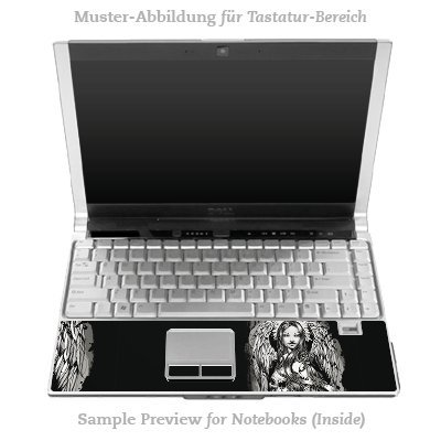 Design Skins für DELL Latitude D530 Tastatur - Joker - Lost Angel Design Folie