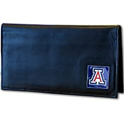 NCAA Arizona Wildcats Leather Checkbook Cover