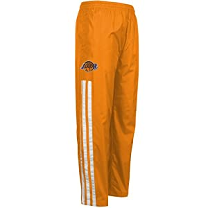 NBA adidas Los Angeles Lakers Youth On-Court Pants - Gold by adidas