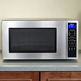 Dacor Preference DMW2420S 2.0 cu. ft. Countertop Micrwave Oven with 1,100 Cooking Watts, Sensor Modes, Add Minute and Blue LED Display: Stainless Steel