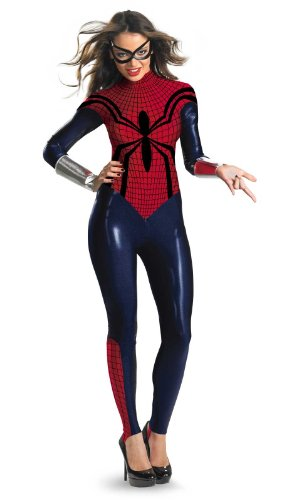 Spider-Girl Bodysuit Adult Costume Size Large