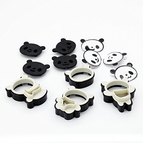 Cartoon Panda Cookie Cutter moule bonbons Décoration Moule DIY Sugarcraft