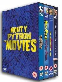 Monty Python: The Movies (4 Disc Box Set) [DVD]