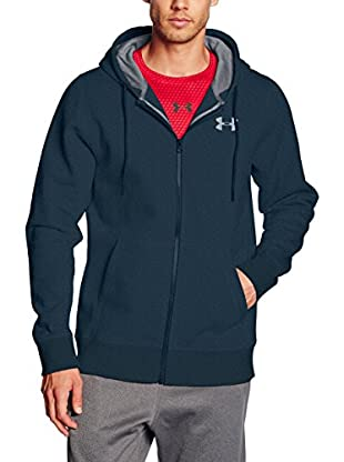 Under Armour Sudadera con Capucha Storm Rival Cotton Full Zip (Verde)