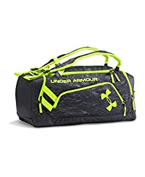 Under Armour Unisex Storm Contain II Duffle, Black (003), One Size