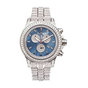 Iced Out Watches Mens Joe Rodeo Diamond Watch 26.70ct