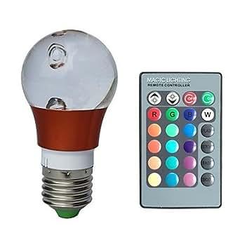 QWE LED E27 Lampadine a palla RGB: Amazon.it: Illuminazione