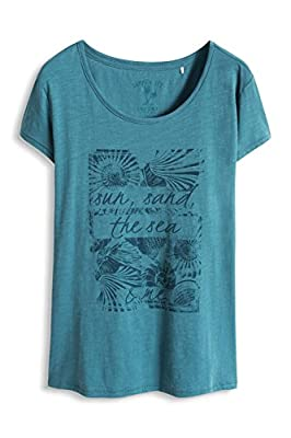 edc by Esprit Women's 066cc1k001 Short Sleeve T-Shirt