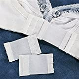 3 Hook Bra Extender Set of 3 in Nude, White and Black thumbnail