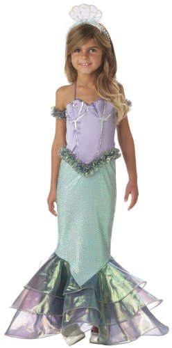 Magical Mermaid Child Costume Size Medium (6)