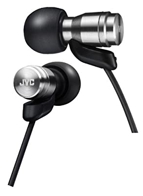 JVC Victor In-ear Stereo Headphones | HA-FXD70-S Silver (Japanese Import)