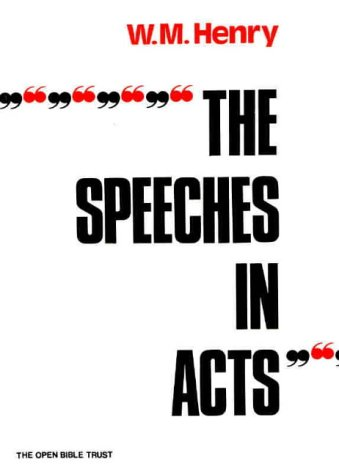 The Speeches in Acts