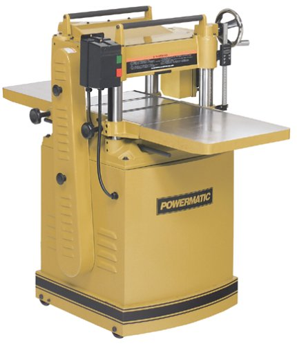 Powermatic 1791210 Model 15S Deluxe 15-Inch 3-Horsepower 230-Volt 1-Phase Planer with Spiral Cutterhead and Digital Readout