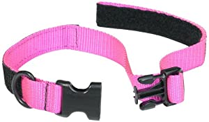 Co-Leash All-in-One Collar and Leash, 21 to 24-Inch Neck, Pink