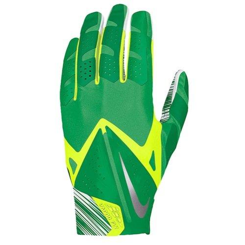 Nike Mens Nike Vapor Fly Reciever Football Gloves Green