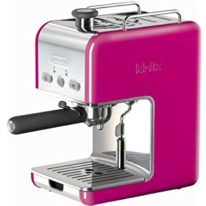 DeLonghi Kmix 15 Bars Pump Espresso Maker with 15 Bar Pressure, Swivel Jet Frother