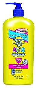 Banana Boat Sunscreen Kids Family Size Broad Spectrum Sun Care Sunscreen Lotion - SPF 50 from Banana Boat