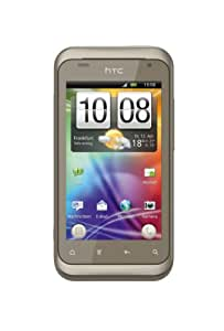 HTC Rhyme Smartphone (9.4 cm (3.7 Zoll) Touchscreen, Android 2.3 OS, 5 MP Kamera) Hour Glass