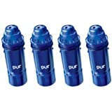 PUR 2-Stage Water Pitcher Replacement Filter, 4-Pack