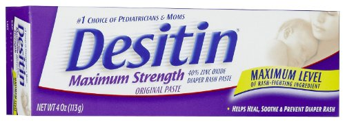 Desitin Original Zinc Oxide Diaper Rash Ointment Tube - 4 Oz (Pack Of 2)