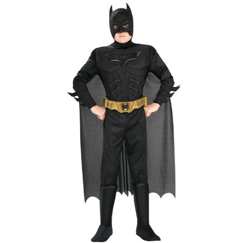 Batman Dark Knight Deluxe Muscle Chest Batman Child Costume - Kid's Costumes