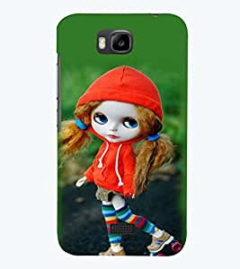 printtech Cute Anime Back Case Cover for Huawei Honor Bee::Huawei Y 5C