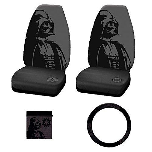 Darth Vader Head Mask Villain Cartoon Character