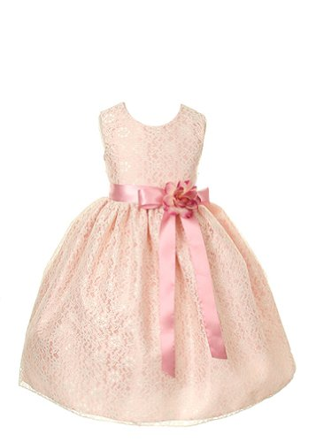 Cinderella Couture Elegant Lace Girl'S Dress-Drosedrose-4